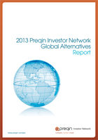 2013 Preqin Investor Network Global Alternatives Report